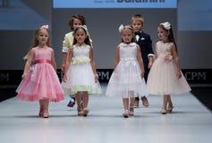niebieski fotografa mody flash pokaz odcień żartuje podium Zdjęcie Royalty Free