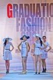 niebieski fotografa mody flash pokaz odcień Zdjęcie Royalty Free
