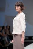 niebieski fotografa mody flash pokaz odcień Kobieta wizerunek i styl Obraz Royalty Free