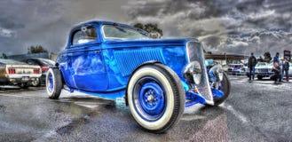 niebieski gorące pręt Obraz Royalty Free