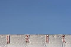 niebieski granice różowy Zdjęcie Stock