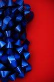 niebieski granice łuk Obraz Stock