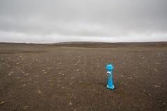 niebieski hydrant obrazy royalty free