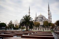 niebieski Istanbul indyk meczetu Obrazy Royalty Free