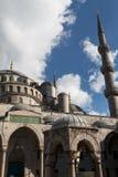 niebieski Istanbul indyk meczetu Zdjęcia Stock