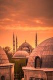 niebieski Istanbul indyk meczetu Obrazy Stock