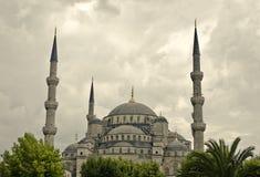 niebieski Istanbul meczetu Fotografia Stock