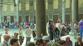 niebieski Istanbul meczetu Zdjęcia Stock