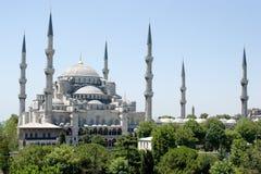 niebieski Istanbul meczetu Zdjęcie Stock