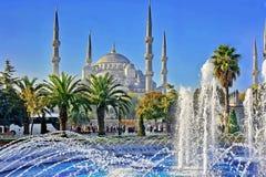 niebieski Istanbul meczetu Obraz Stock