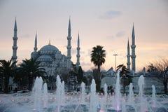 niebieski Istanbul meczetu Obrazy Stock