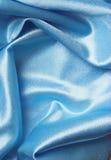 niebieski jedwab Obrazy Royalty Free