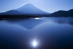 niebieski jeziora Obrazy Royalty Free