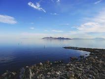 niebieski jeziora zdjęcia royalty free