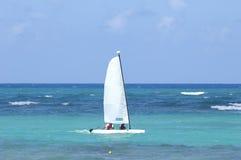 niebieski karaiby żaglówki morza Obraz Stock