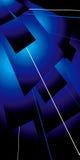 niebieski klapowany lazer Obrazy Stock