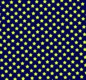 niebieski kolor żółty wzoru Obraz Stock