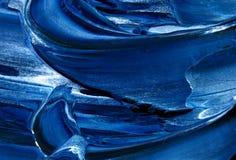 niebieski konsystencja white Obrazy Royalty Free