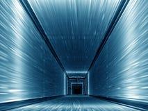 niebieski korytarza Zdjęcie Stock