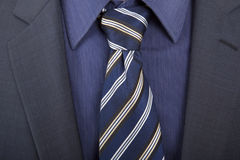 niebieski krawat Obrazy Stock