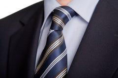 niebieski krawat Zdjęcia Royalty Free