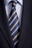 niebieski krawat Zdjęcia Stock