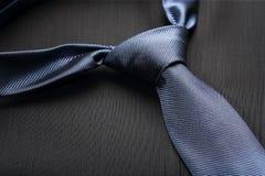 niebieski krawat Fotografia Stock
