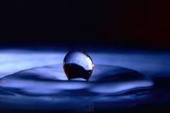 niebieski kropla zdjęcie stock