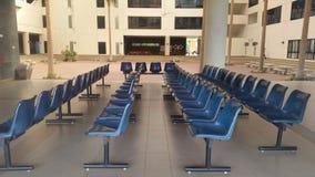 niebieski krzesło Obraz Stock