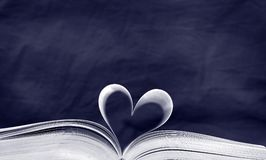 niebieski książka Zdjęcie Stock