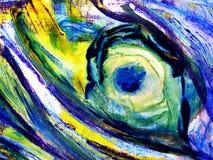 niebieski kwiat ilustracja wektor