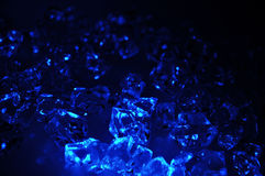 niebieski lód Fotografia Royalty Free