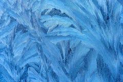niebieski lodową konsystencja Zdjęcie Royalty Free