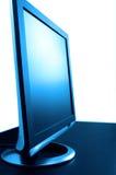 niebieski lsd pojedynczy stonowany ekranu Obraz Royalty Free
