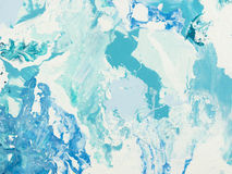 niebieski marmurowa konsystencja Zdjęcia Royalty Free