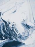 niebieski marmurowa konsystencja Fotografia Royalty Free