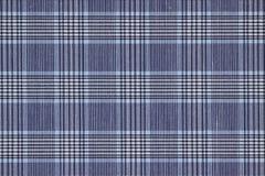 niebieski materiał Obraz Stock