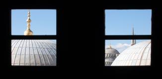 niebieski meczetu Obraz Royalty Free