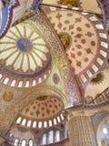 niebieski meczetu Zdjęcia Royalty Free