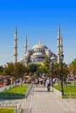 niebieski meczetu Fotografia Stock