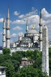 niebieski meczetu Zdjęcia Stock