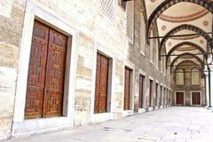 niebieski meczetu Obrazy Royalty Free