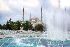 niebieski meczetu Istanbuł, Turcja Fotografia Royalty Free