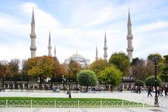 niebieski meczetu Istanbuł, Turcja Fotografia Stock