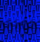 niebieski metalicznego schematu Fotografia Royalty Free