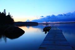 niebieski most Obrazy Royalty Free