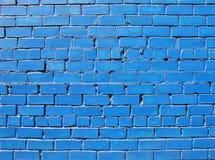 niebieski mur Obrazy Stock