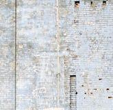 niebieski mur Fotografia Royalty Free