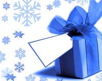 - niebieski obecny Zdjęcie Stock