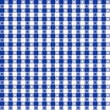 niebieski obrus bezszwowy wzoru Zdjęcia Royalty Free